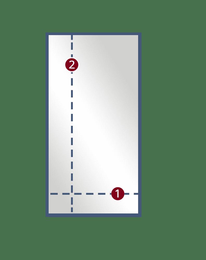 1 Single Door semi framed
