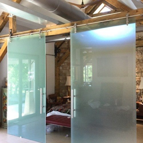 Dorma Sliding Barn Doors | Sliding Barn Doors | Residential Product Gallery | Anchor-Ventana Glass Company