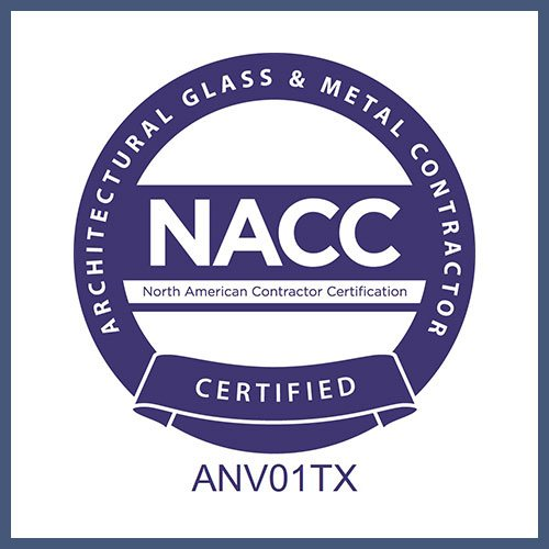 NACC | North American Contractor Certification | Anchor-Ventana Glass