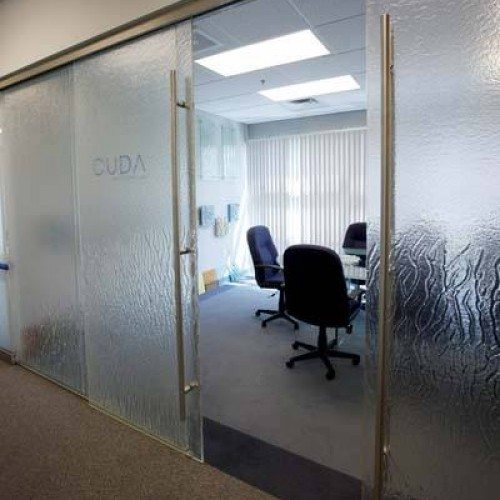 Sliding Interior Door | Glass Wall Systems Gallery | Interior Glass Products | Anchor-Ventana Glass