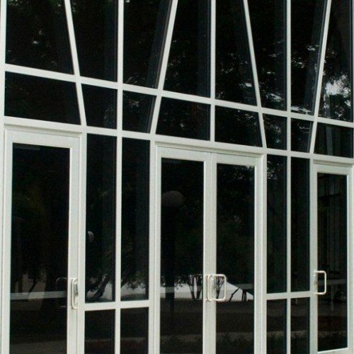 Custom Curtain Wall Entrance and Commercial Doors | Entrances Gallery | Commercial Products | Anchor-Ventana Glass