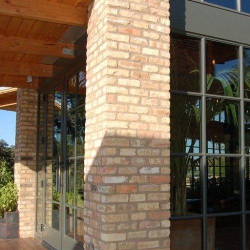 Custom Storefront Doors, Windows and Brake Metal | Entrances Gallery | Commercial Products | Anchor-Ventana Glass