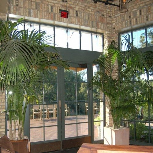 Interior View of Storefront Entrance | Entrances Gallery | Commercial Products | Anchor-Ventana Glass