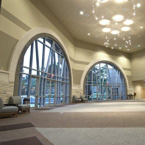 Custom Curtain Wall | Entrances Gallery | Commercial Products | Anchor-Ventana Glass
