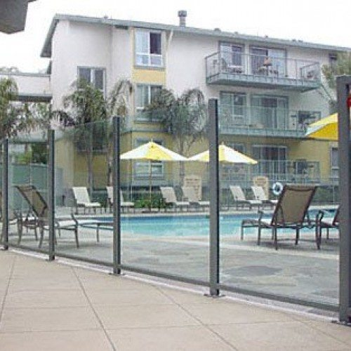 Glass Partition - Pool Fence | Commercial Glass Handrails | Commercial Products | Anchor-Ventana Glass