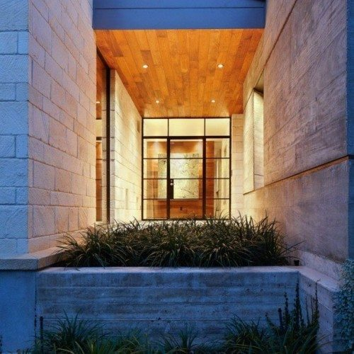 Custom Glass Entryway Door | Glass Wall Systems Gallery | Residential Products | Anchor-Ventana Glass