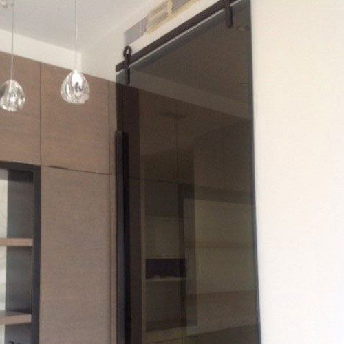 Interior Sliding Glass Wall System | Glass Wall Systems Gallery | Residential Products | Anchor-Ventana Glass