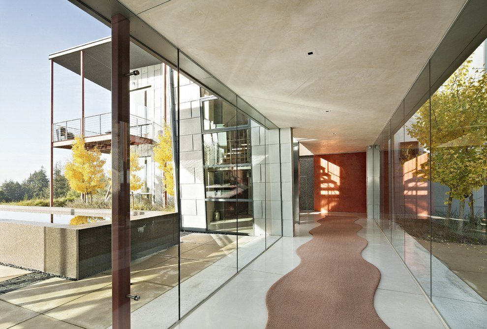 Glass Wall Systems   Residential Gallery   Anchor-Ventana Glass