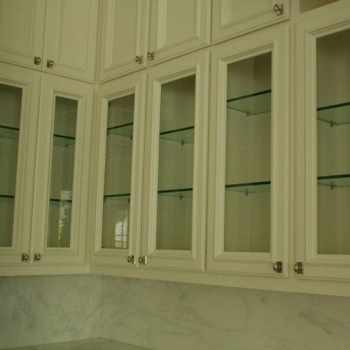Glass Door Inserts & Glass Shelves for Kitchen Cabinets | Cabinet Glass & Shelves Gallery | Residential Products | Anchor-Ventana Glass