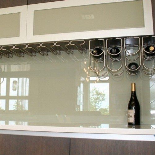Back Painted Cabinet Glass & Backsplash in Kitchen | Colored Glass Gallery | Residential Products | Anchor-Ventana Glass
