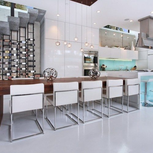 Back Painted Glass Cabinet Fronts in Kitchen | Colored Glass Gallery | Residential Products | Anchor-Ventana Glass