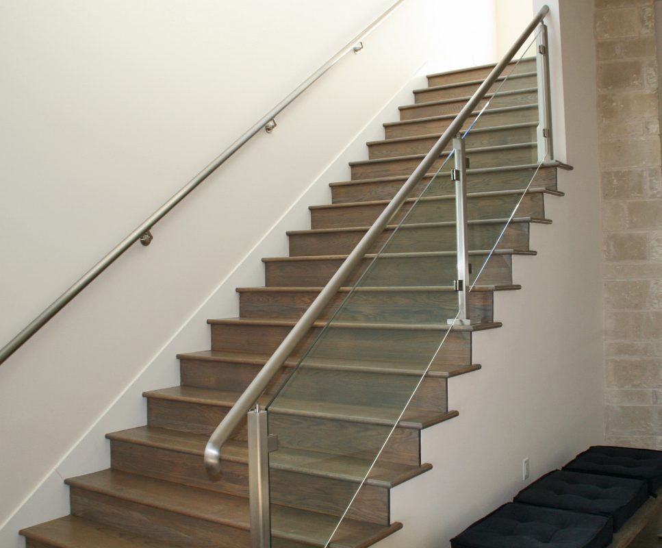 Glass Handrail Systems Residential Gallery Anchor