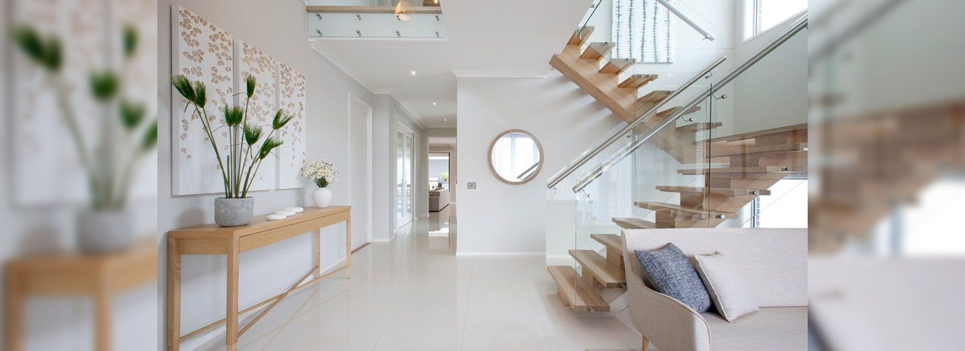 Glass Handrail Systems | Interior Handrail System | Residential Products & Services | Anchor-Ventana Glass Company