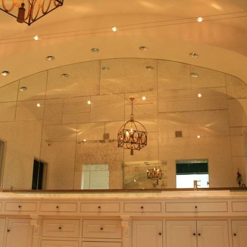 Antique Mirror in Bathroom | Mirrors Gallery | Anchor-Ventana Glass
