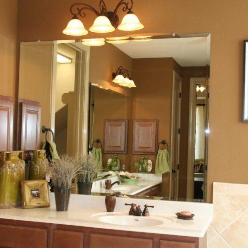 Frameless Mirrors Mirrors Residential Gallery Anchor Ventana Glass