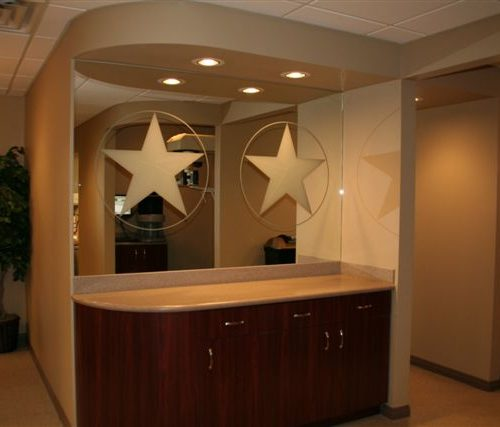 Texas Star Mirror Cut-Out | Mirrors Gallery | Anchor-Ventana Glass