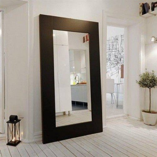 Over Sized Framed Mirror in Dressing Area | Mirrors Gallery | Anchor-Ventana Glass