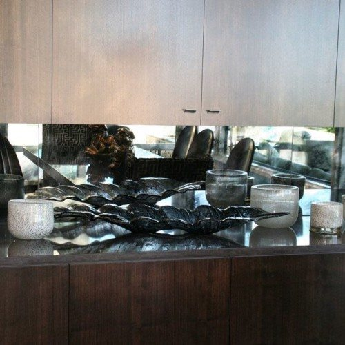 Antique Mirror Backsplash | Mirrors Gallery | Anchor-Ventana Glass