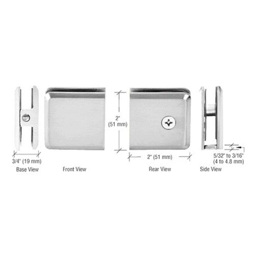 Wall Mount Clamp | Hardware Options | Residential | Anchor-Ventana