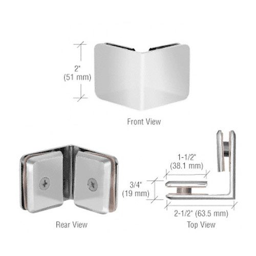 Glass-to-Glass Clamp | Hardware Options | Residential | Anchor-Ventana