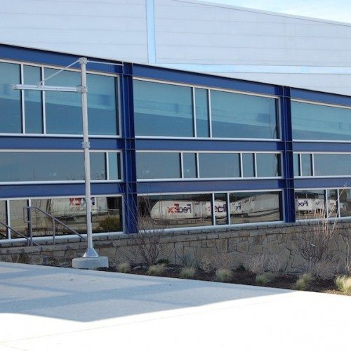 Exterior View of Building Storefront | Round Rock Sports Center | Commercial Projects | Anchor-Ventana