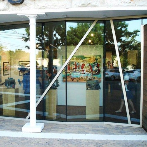 Exterior View of Store Curtain Wall System | Georgetown Art Center | Commercial Projects | Anchor-Ventana