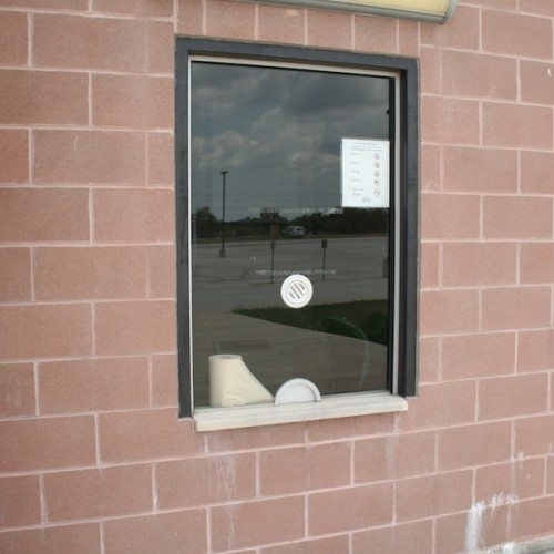 Transaction Window | Bastrop Memorial Stadium | Commercial Projects | Anchor-Ventana Glass