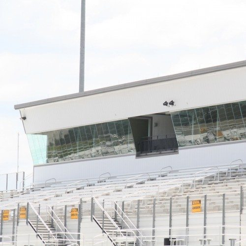 Butt-Glazed Curtain Wall | Bastrop Memorial Stadium | Commercial Projects | Anchor-Ventana Glass