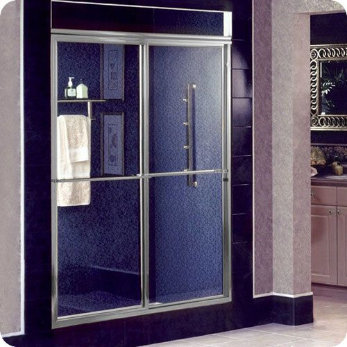 Framed 650 Standard Sliding Shower Enclosure | Shower Enclosures | Products | Residential | Anchor-Ventana Glass