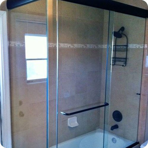 CK/DK Sliding Shower Enclosures | Shower Enclosures | Products | Residential | Anchor-Ventana Glass