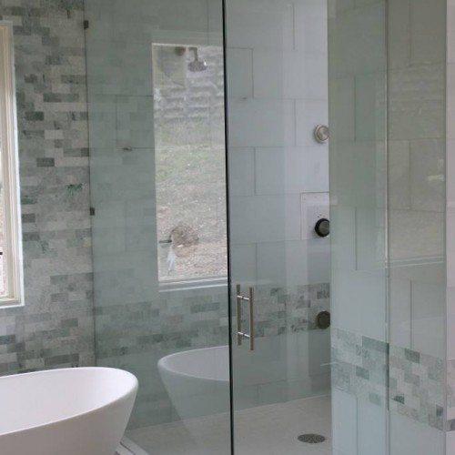 Frameless Shower - Bathroom - Modern - Eclectic | Shower Gallery | Anchor-Ventana Glass
