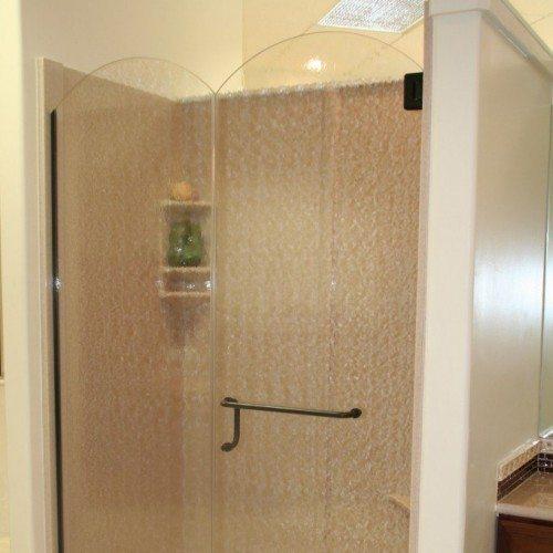 Frameless Shower - Bathroom - Eclectic | Shower Gallery | Anchor-Ventana Glass