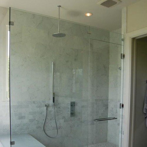 Let Anchor-Ventana enclose your shower space with a custom-fitted frameless glass enclosure   Shower Gallery   Anchor-Ventana Glass