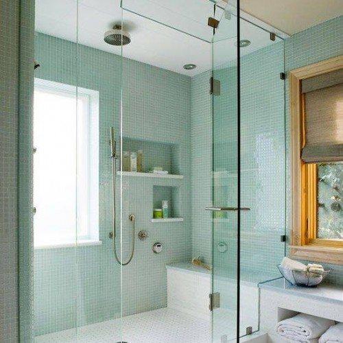 Let Anchor-Ventana make your bath a beautiful place with a frameless shower enclosure   Shower Gallery   Anchor-Ventana Glass