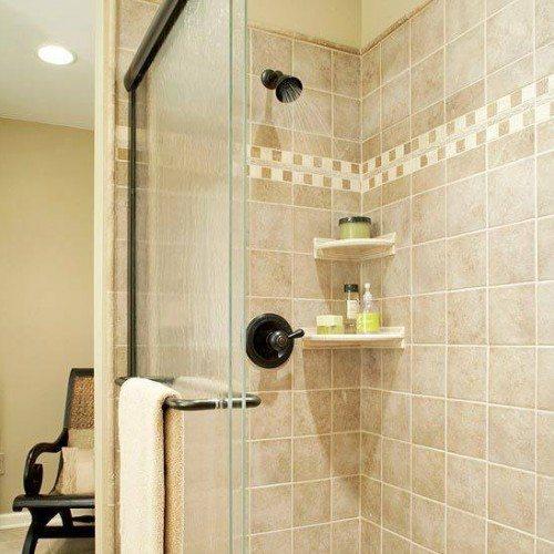 Sliding Tub Enclosure in Bathroom | Shower Gallery | Anchor-Ventana Glass