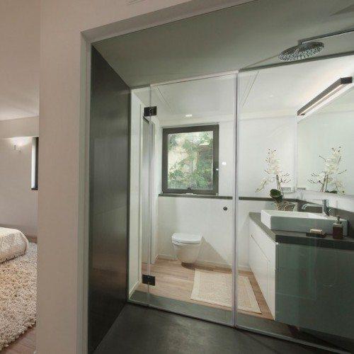 Frameless Glass Bathroom Enclosure | Shower Gallery | Anchor-Ventana Glass