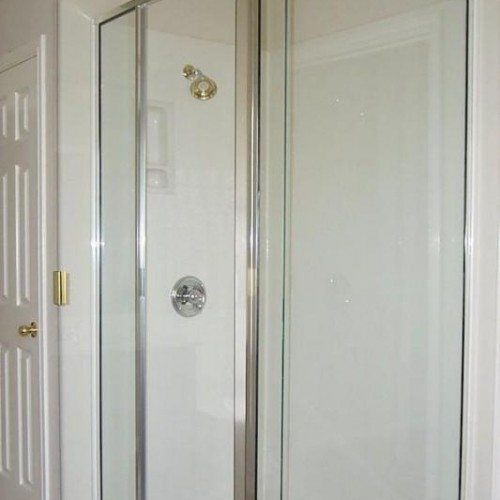 Semi-Frameless Glass Shower | Shower Gallery | Anchor-Ventana Glass