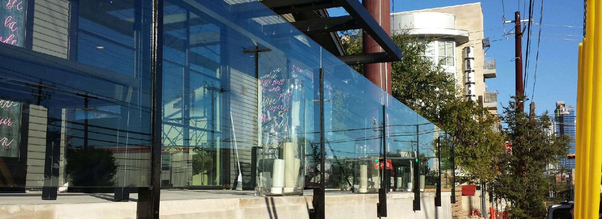 Commercial Glass Gallery | Idea Gallery | Glass Handrails | Anchor-Ventana Glass